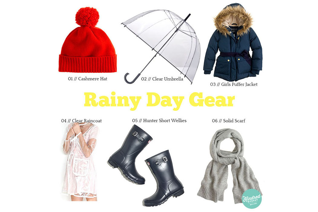 Rainy Day Gear The Kindred Streetthe Kindred Street