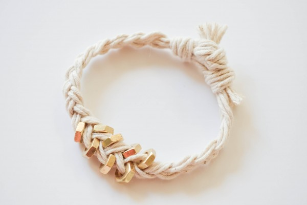 Hex Nut Bracelet: DIY-The Kindred Street