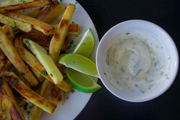 SWEET-POTATO-FRIES-W-CILANTRO-LIME-MAYO.-1050x700